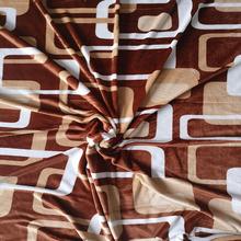 床上用品現貨加厚印花格子幾何圖案法蘭絨禮品毛毯可定制廠家直銷