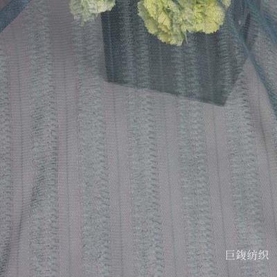 网眼布 条纹纱面料 网纱面料 网布提花网 现货供应