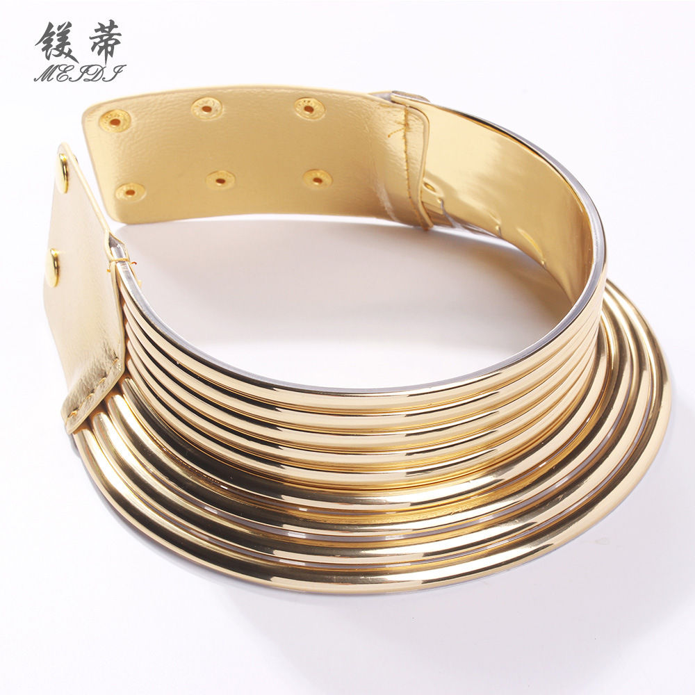 Alloy Fashion Geometric necklace  (Alloy)  Fashion Jewelry NHMD5253-Alloy