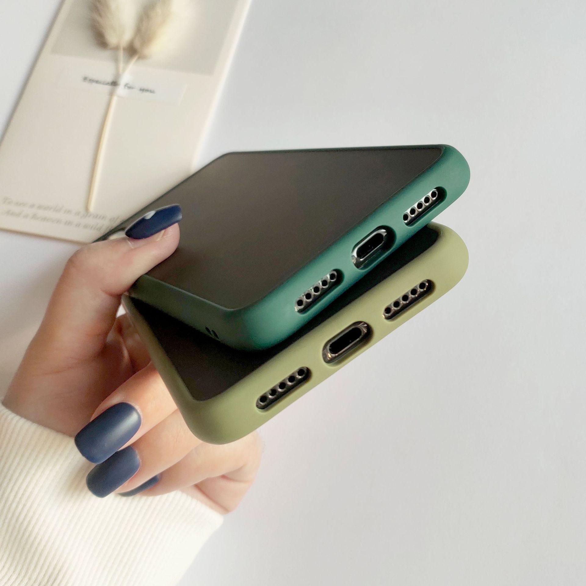 Liquid contrast color Huawei mate30 phone case NHHC184793