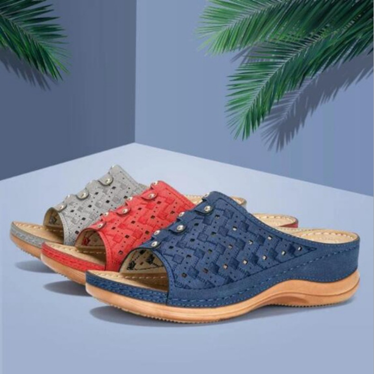Cross border foreign trade Europe and the United States new summer sandals women's sandals in 2019