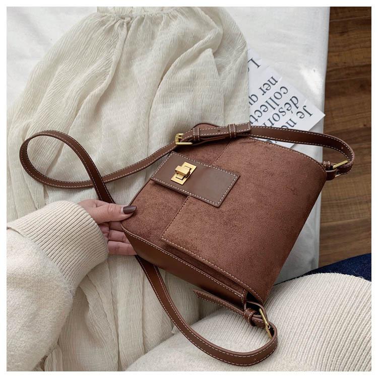 Fashion texture small bag women shoulder bag NHTC195647