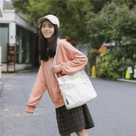 대용량 에코백 2019 한국판 여름 신상 캔버스백 숄더백 핸드백