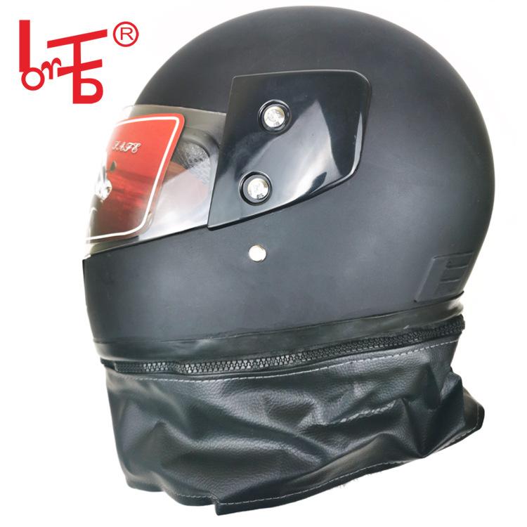 电动车冬天头盔电瓶车防风骑行冬季头盔摩托车保暖头盔