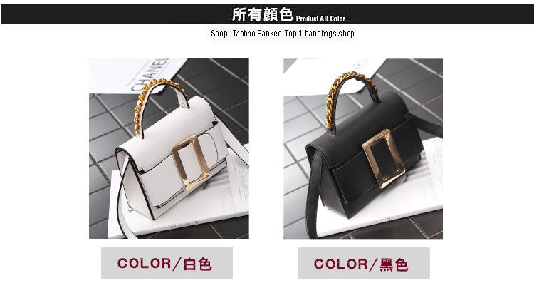 Light retro one-shoulder casual portable square bag NHLD158090