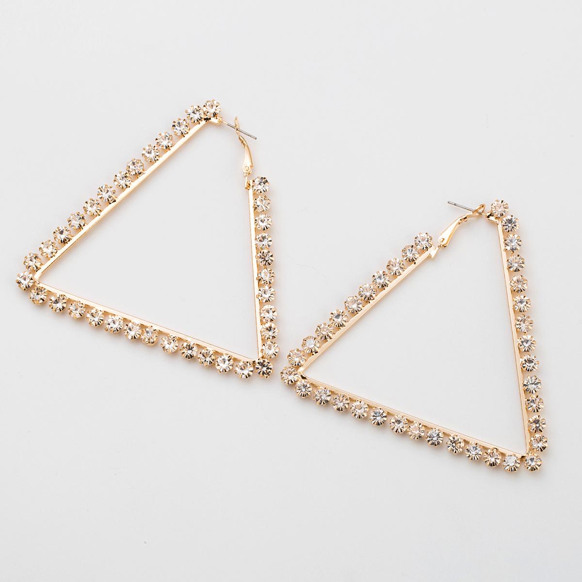 Boucle d39oreille gomtrique de mode acrylique alliage Bijoux de mode NHJE2611Alliage