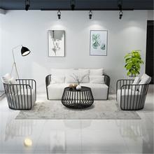 北欧简约布艺沙发 小户型客厅双人沙发懒人沙发躺椅?#39057;?#27801;发家具