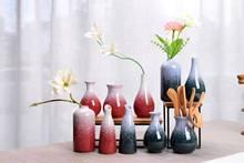 圣誕陶瓷花瓶水培花器創意陶瓷迷你小花插禪意家居桌面陶瓷擺件