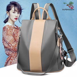 New anti-theft shoulder bag female fashion waterproof nylon college bag casual shopping trip small backpack