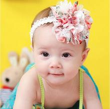 婴儿发带宝宝饰品女童发箍公主拍照头饰满月照百岁照影楼拍照发饰