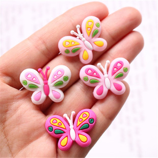 diy accessories little girl side clip handmade materials storage box jewelry box soft glue patch cute little bow
