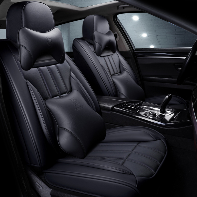 汽车坐垫四季通用大众新朗逸速腾迈腾宝来帕萨特凌度专用全包座套