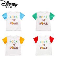 迪士尼獅子王童裝2019新款t恤夏男女童短袖韓版上衣兒童一件代發