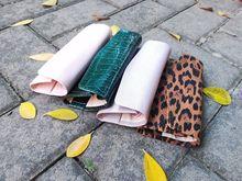 工廠OEM定制豹紋PU首飾卷包 高檔輕奢風格便攜收納定做PU首飾卷包