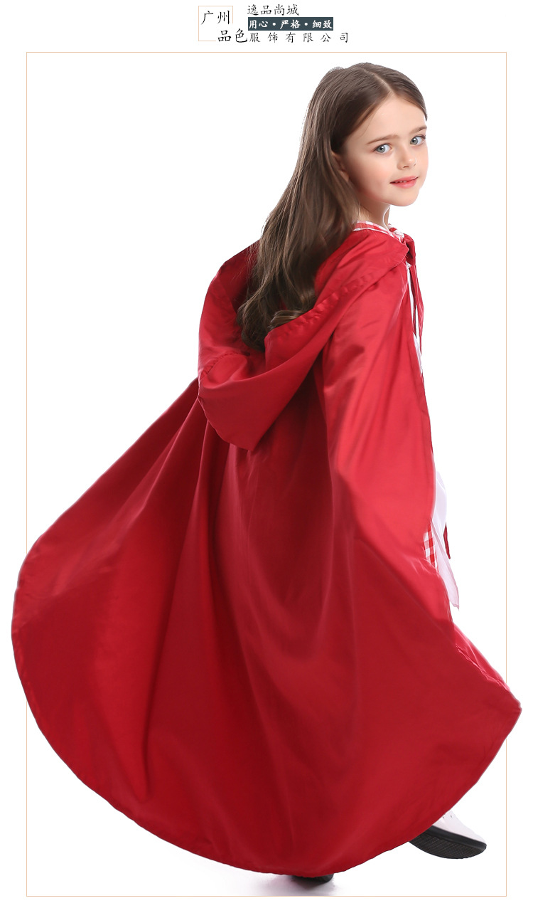 Halloween cosplay costume girls Little Red Riding Hood party clothes NHFE153943