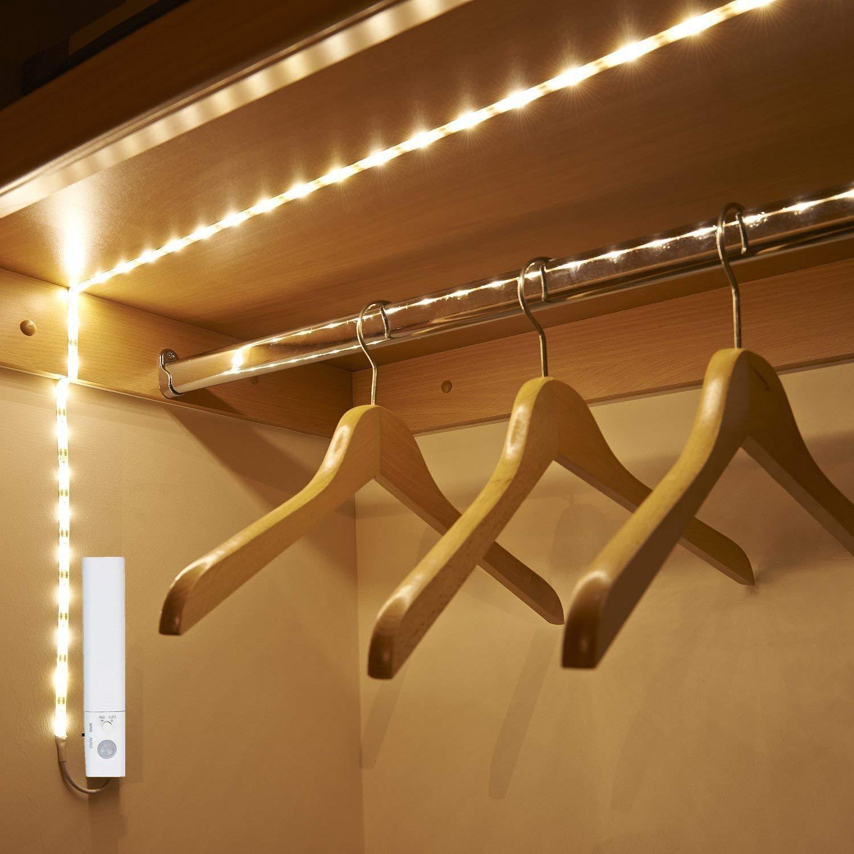 节能环保LED灯衣柜鞋柜床底带灯条智能感应灯室内装饰跨境软灯带