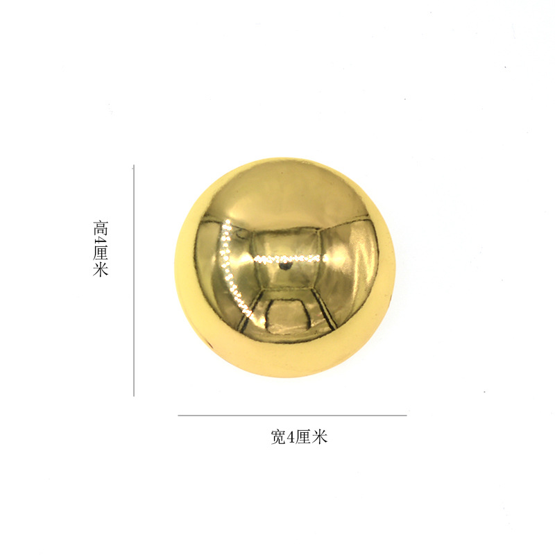 New style brooch simple round pin retro accessories wholesale NHNT203552