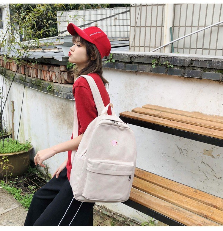 Creative personality embroidered planet universe canvas bag HX190427119646