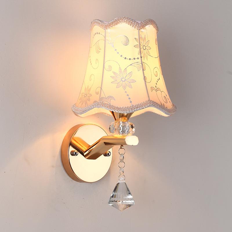 壁灯批发床头墙壁灯客厅卧室房间双头led背景墙灯具