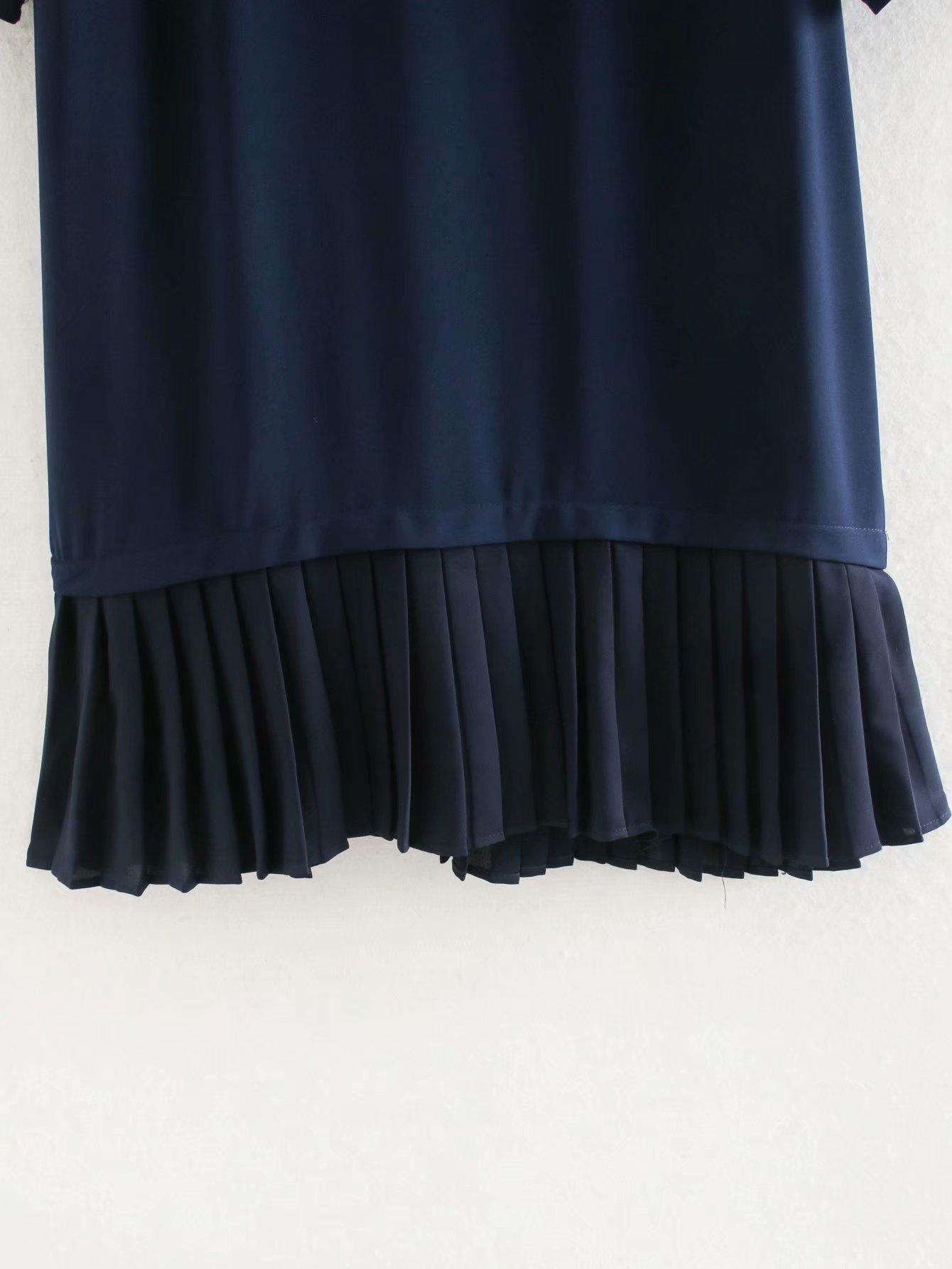 Wholesale winter pleated skirt dress NHAM195115