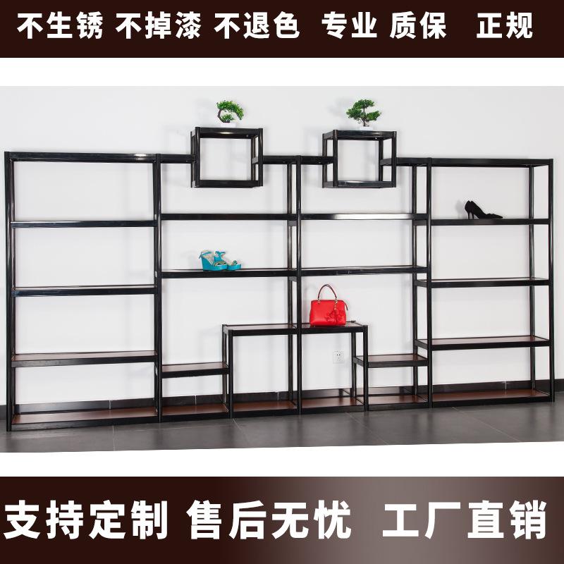 厂家鞋店鞋架展示架精品包包展示架 鞋架样品展示柜展示架定做