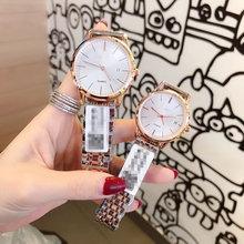 微商爆款开创者带日历男女情侣对表全钢蝴蝶扣石英钢带手表招代理