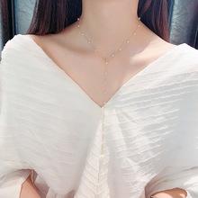 韩国东大门时尚多层珍珠手链甜美清新简约手?#33778;?#36136;女手饰优雅手镯