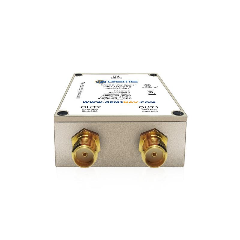 gps功分器一分二 增益可调 测量测绘设计 射频功分器MGS12