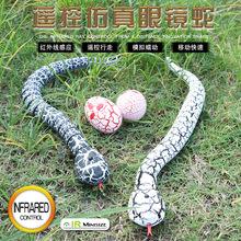仿真電動兒童玩具遙控蛇 整盅整人紅外線遙控響尾蛇玩具模型批發