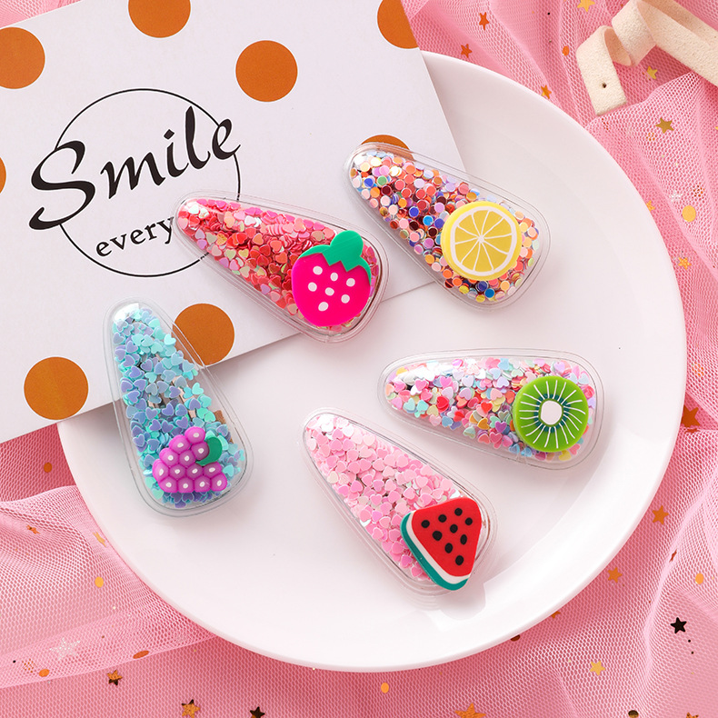 Cute new colorful fruit hair accessories NHMS149045