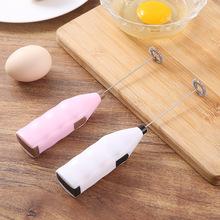 家用手持電動打蛋器打奶器 創意迷你不銹鋼雞蛋咖啡奶茶攪拌器