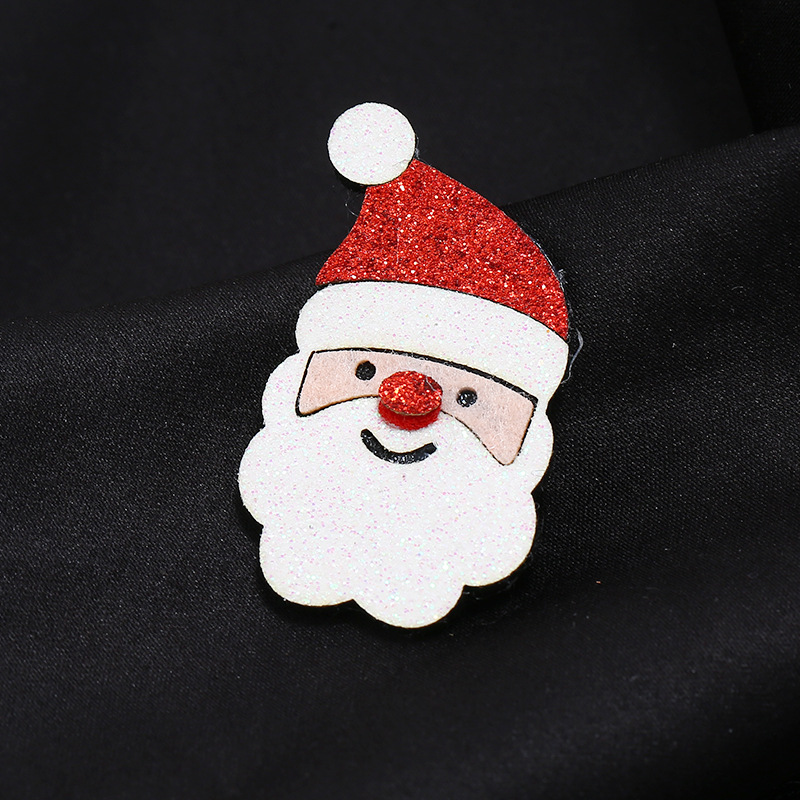 Cloth Santa exquisite brooch creative gift exquisite pin jewelry accessories wholesale NHKQ187330
