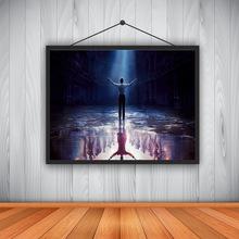 表演家高清帆布印刷油畫藝術時尚美墻藝術家居裝飾客廳臥室