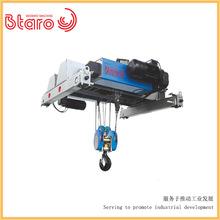 上海歐式雙梁葫蘆小車定制 雙速歐標鋼絲繩卷揚小車加工