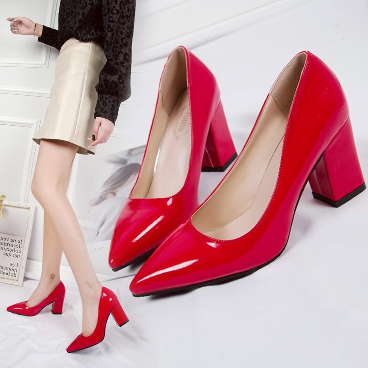 New low-cut working women's shoes autumn...