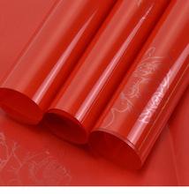 现货批发 玫瑰花大玻璃纸 平安果装饰纸 鲜花花束DIY包装用品材料