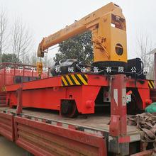 江苏九麟直销5吨电动平车吊 小型轨道吊车 平板随车吊厂家价格