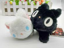 日本原单正版宫崎骏魔女宅急便黑猫吉吉 幽灵公主 毛绒玩具公仔