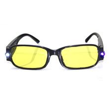 带灯磁疗老花镜紫外灯LED灯验钞灯夜视镜多功能老花眼镜厂家批发