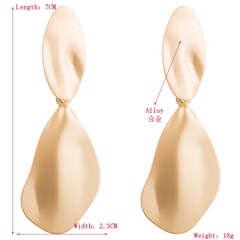 Aretes para mujer colgantes de moda Pendientes de oro de aleación de oro de alta calidad Pendientes largos de mujer NHLN179641