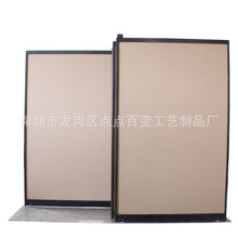 强腾厂家直销 支持定制 定制瓷砖展示架 双排单面平拉柜