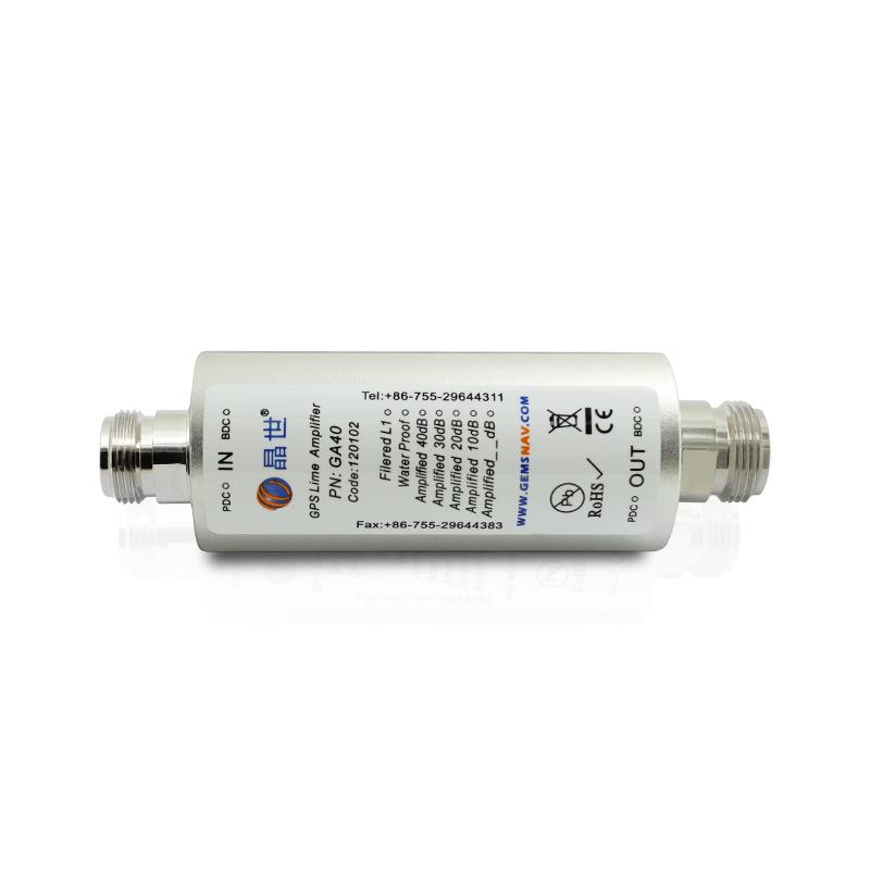 星火源GPS/GNSS同轴线路放大器 GPS放大器GA40