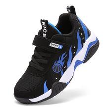 童鞋男2019春夏季戶外網面鞋兒童跑步運動鞋耐磨透氣防滑鞋中大童