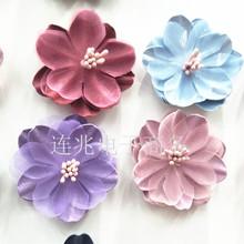 韩版新款饰品配件 手工DIY高档布艺花朵 手机壳美容 鞋包服装材料