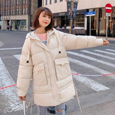 Quần áo cotton mùa đông 2019 phiên bản Hàn Quốc mới của cotton dành cho nữ thời trang dài