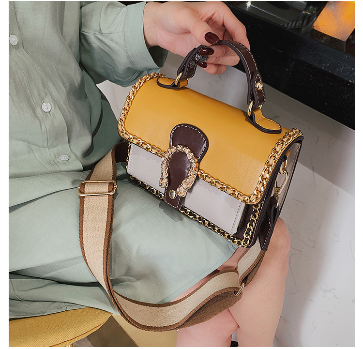 PU Korea  handbag  (yellow)   NHTC3471-yellow