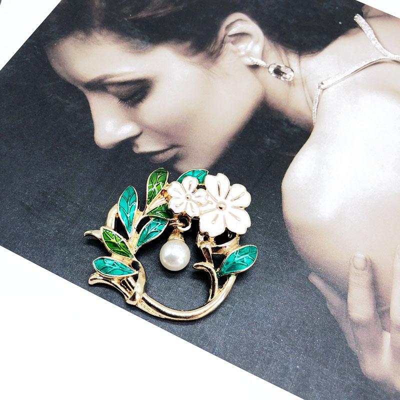 Alloy Fashion Flowers brooch  Bow  Fashion Jewelry NHOM1584Bow