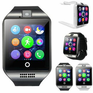 Q18 smart watch phone bluetooth watch arc curved screen watch card wearable watch manufacturer low price