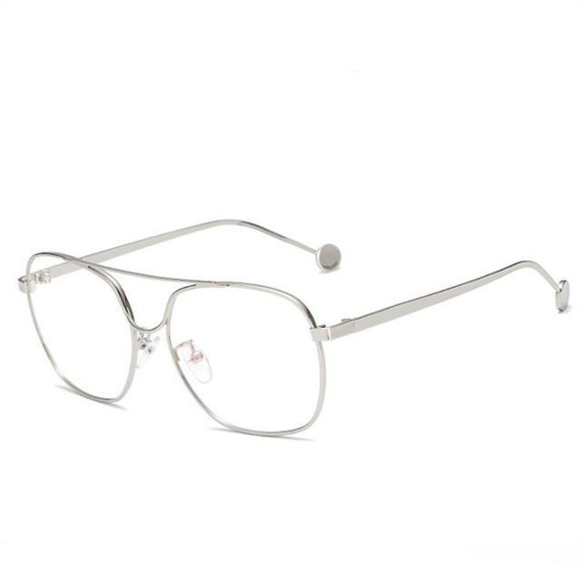 Wu Hao Wang Liu Wen màu đỏ với tính cách của kính râm đôi khung kính nam và kính cận thị kính gọng lớn Khung