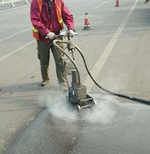 旧热熔线清除高压水除线村道旧改标线热熔除线施工队全国各地施工